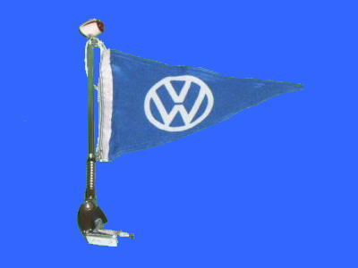 Fender Flagpole With Flag