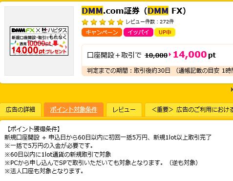 DMM口座